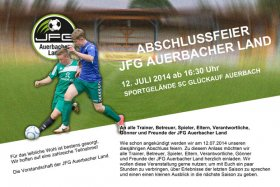 Jahresabschlussfeier JFG Auerbacher Land